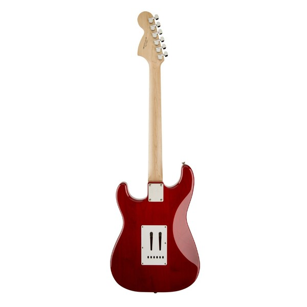 Squier Standard Stratocaster, Cherry Sunburst - Back