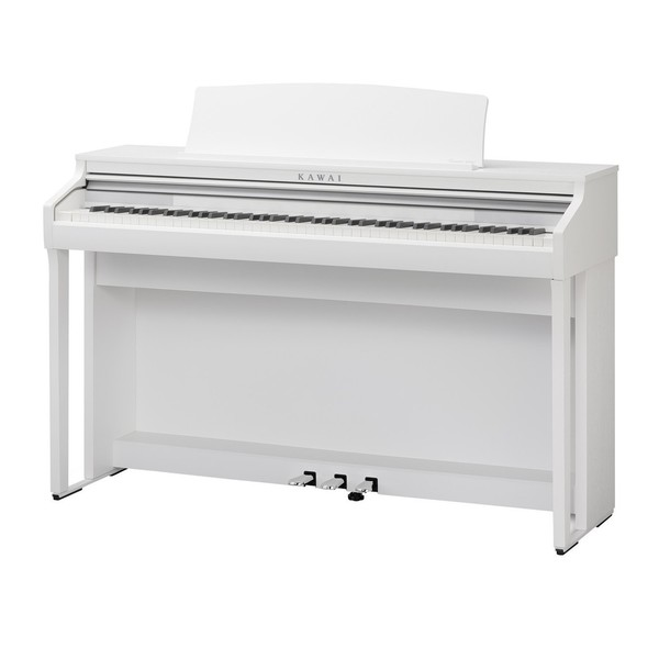 Kawai CA48 Digital Piano, Satin White