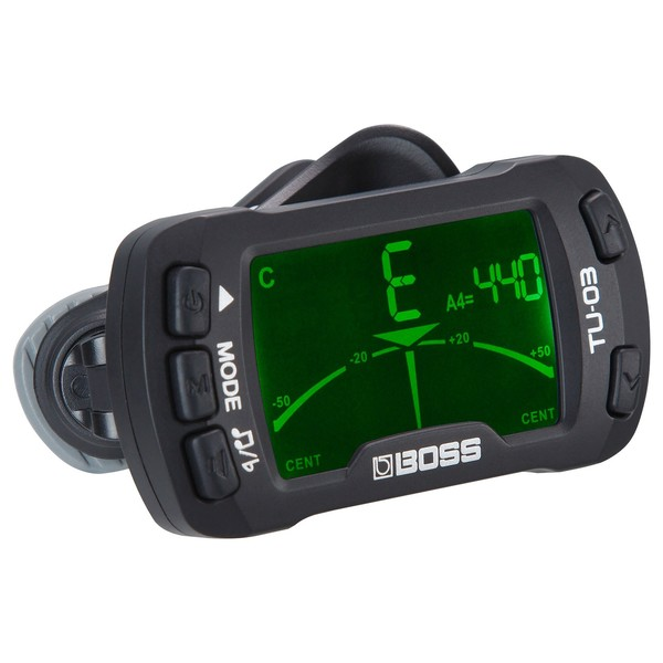 Boss TU-03 Clip-On Tuner and Metronome - Box Opened