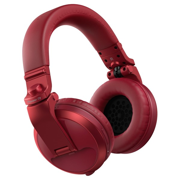 Pioneer HDJ-X5BT Bluetooth DJ Headphones, Red - Main