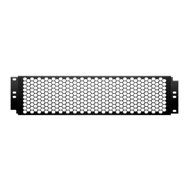Adam Hall 19'' Cover With Punched Hole Front, 2U