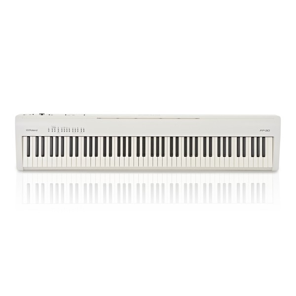 Roland FP 30 Digital Piano, White main