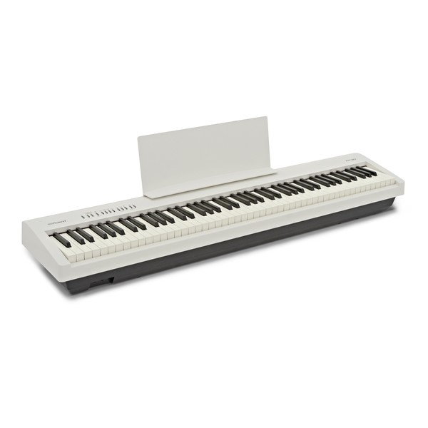 Roland FP 30 Digital Piano, White angle