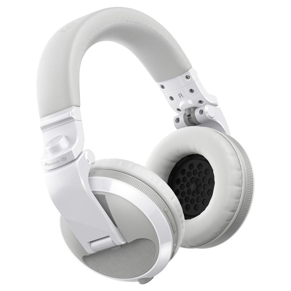 Pioneer HDJ-X5BT Bluetooth DJ Headphones, White - Main