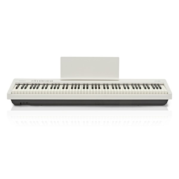 Roland FP 30 Digital Piano, White front