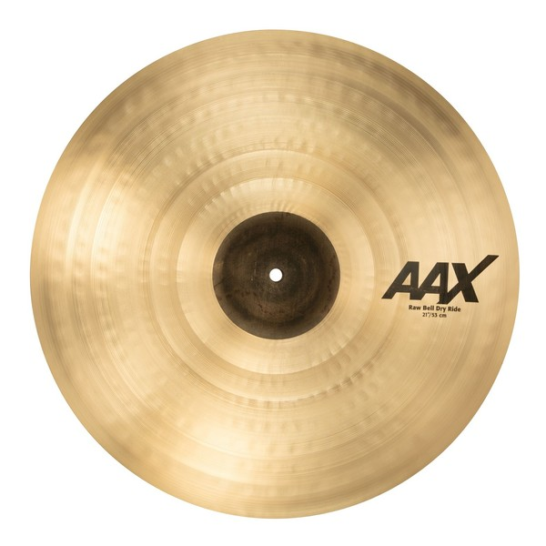 Sabian AAX 21'' Raw Bell Dry Ride Cymbal, Brilliant Finish - main image