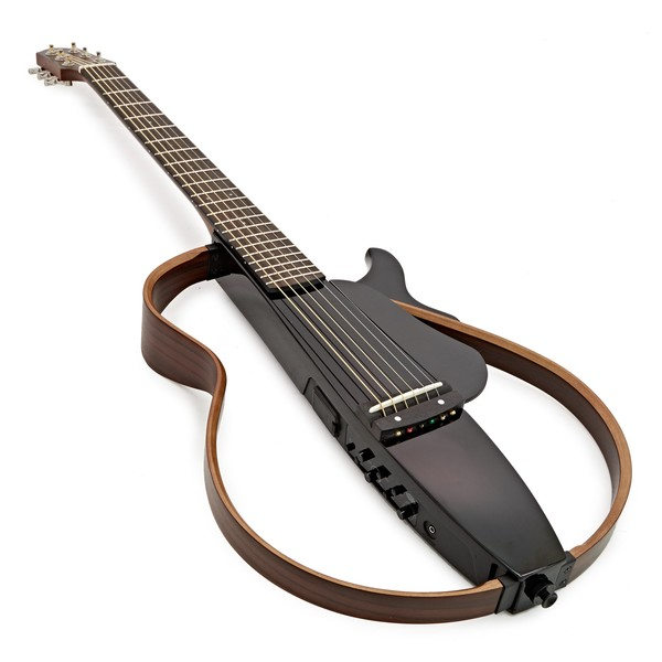 Yamaha Silent Guitar Slg200s : yamaha slg200s steel string silent guitar translucent black b stock at gear4music ~ Vivirlamusica.com Haus und Dekorationen