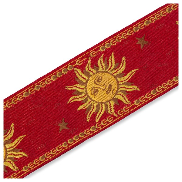 Levy's Jacquard Sun Polyester Strap, Red Pattern