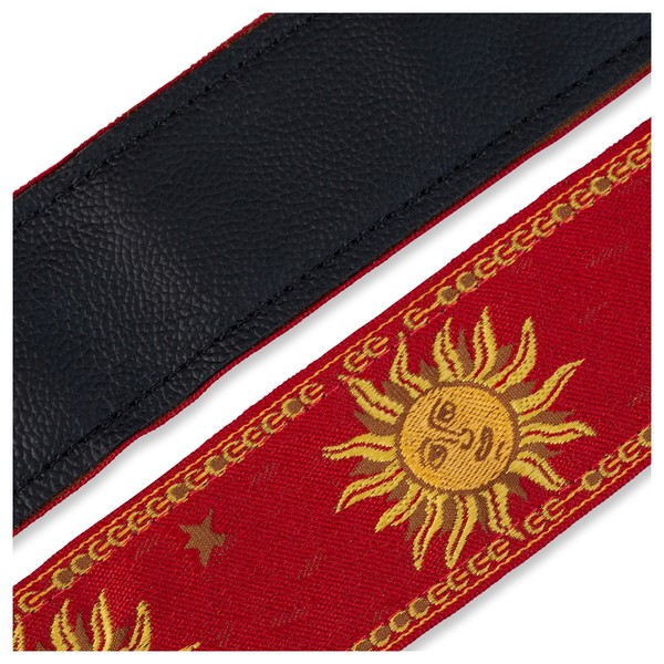 Levy's Jacquard Sun Polyester Strap, Red Underside