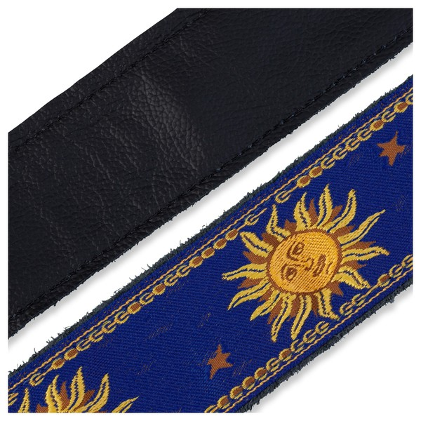 Levy's Jacquard Sun Polyester Strap, Blue Underside