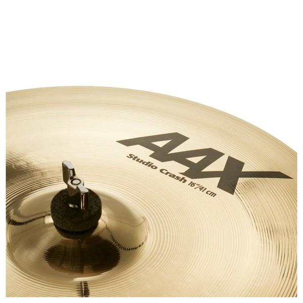 Sabian AAX 16'' Studio Crash Cymbal - Close Up