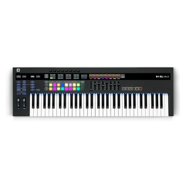 Novation 61SL MKIII CV-Equipped Controller Keyboard - Top