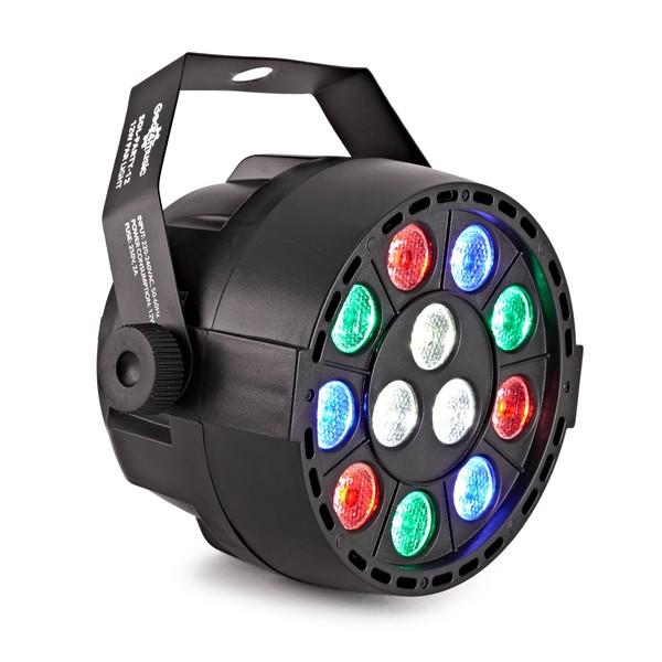 12W RGBW Party Mini Par Light by Gear4music