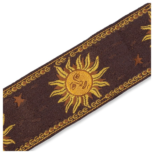 Levy's Jacquard Sun Polyester Strap, Brown Pattern
