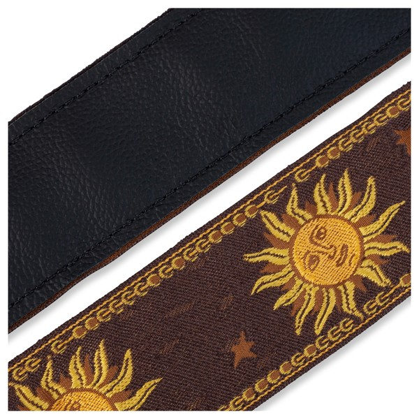 Levy's Jacquard Sun Polyester Strap, Brown Underside