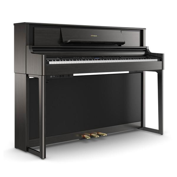 Roland LX705 Digital Piano, Charcoal Black
