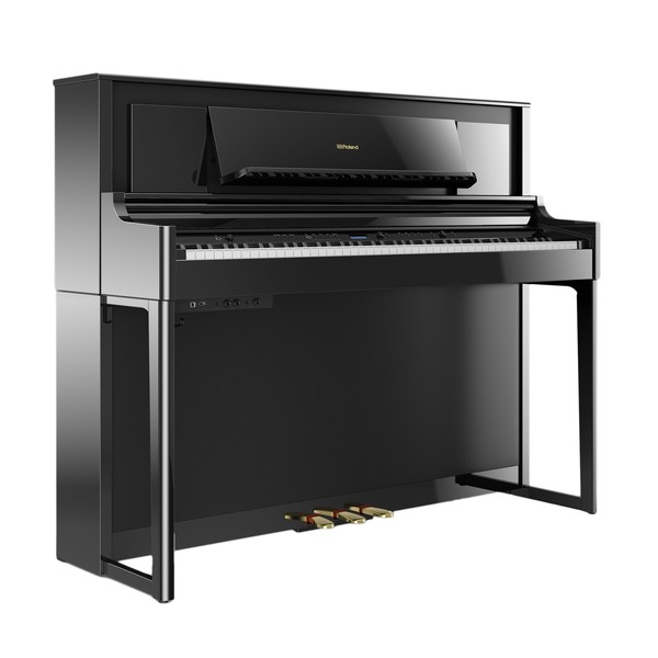 Roland LX706 Digital Piano, Polished Ebony