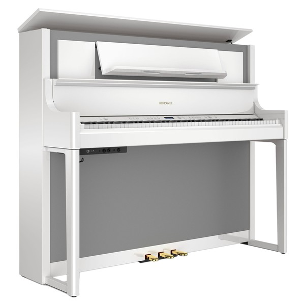 Roland LX708 Digital Piano, Polished White