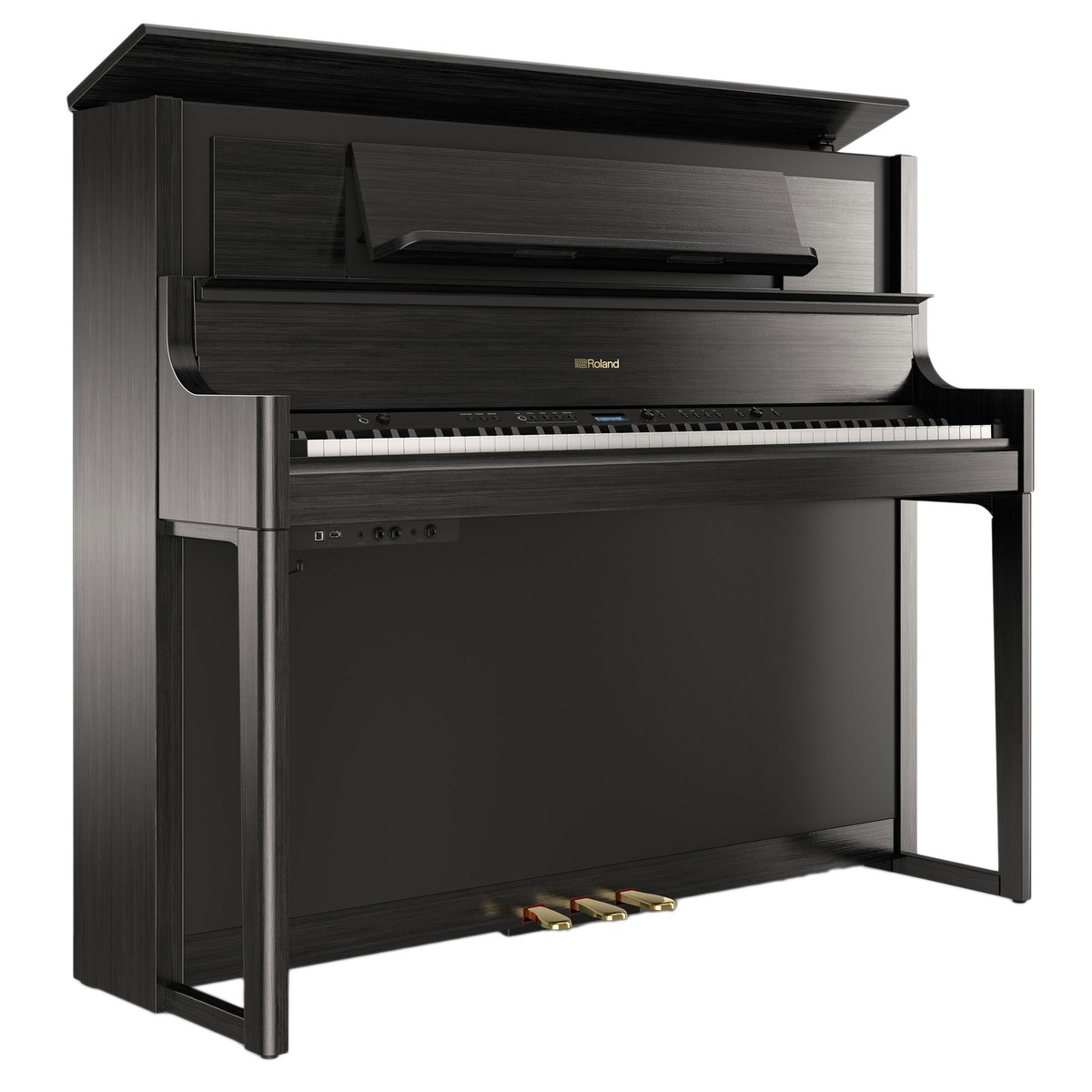 roland lx708 digital piano charcoal black at gear4music. Black Bedroom Furniture Sets. Home Design Ideas