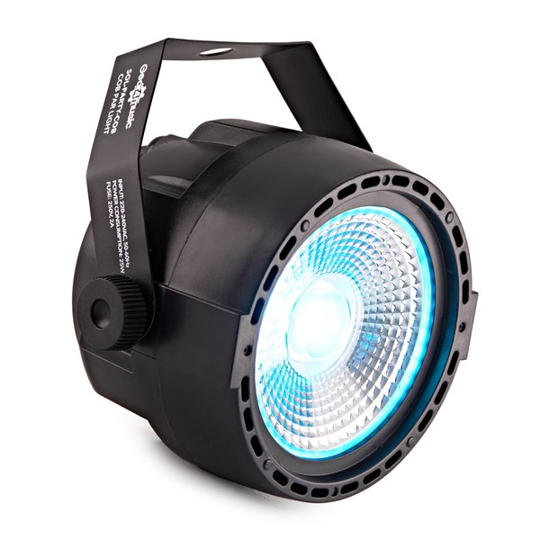 30W 3 in 1 COB Party Mini Par Light by Gear4music