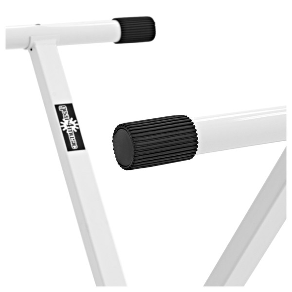 X-Frame Keyboard Stand, White by Gear4music close 2