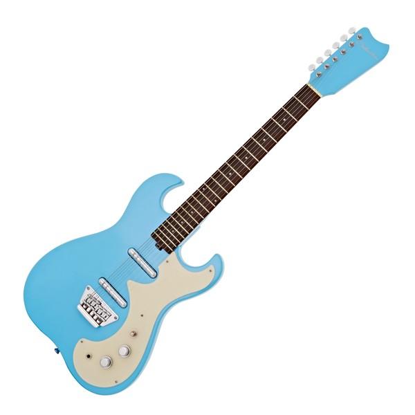 Silvertone 1449 Electric Guitar, Daphne Blue main