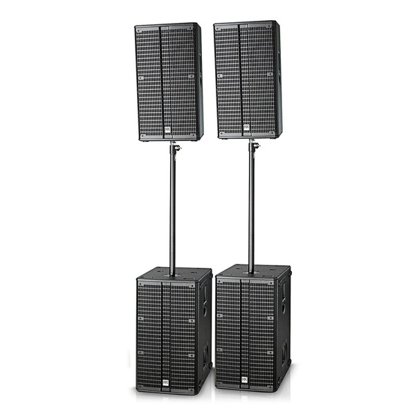 HK Audio Linear 5 Club Pack, Front Angled