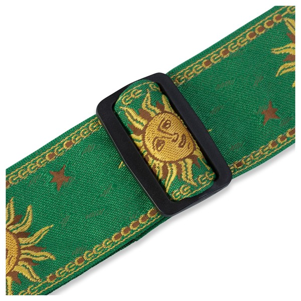 Levy's Jacquard Sun Polyester Strap, Green Buckle