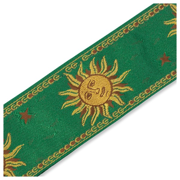 Levy's Jacquard Sun Polyester Strap, Green Pattern