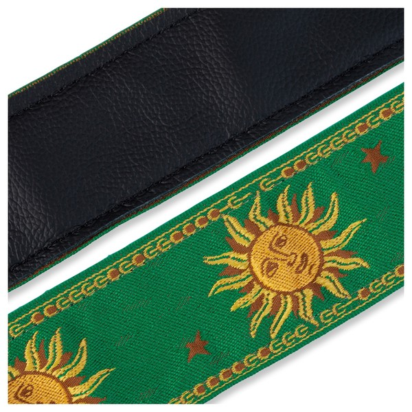 Levy's Jacquard Sun Polyester Strap, Green Underside