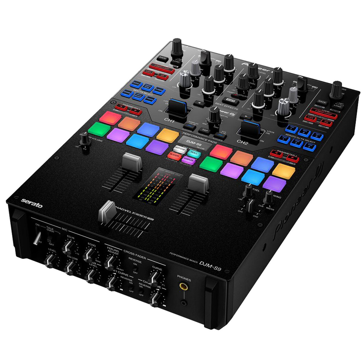 Pioneer DJM-S9 2 Channel Scratch Mixer for Serato DJ - Box Opened