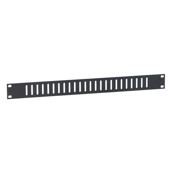Adam Hall 19'' Flat Ventilation Panel With Vertical Slots, 1U