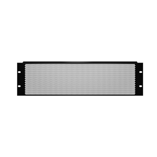 Adam Hall 19'' U Shaped Ventilation Panel With Round Holes, 3U