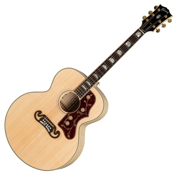 Gibson J-200 Standard 2019, Antique Natural Front View