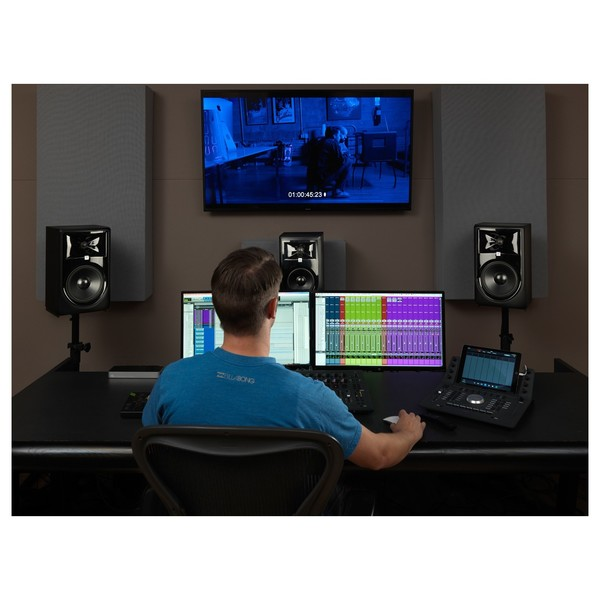 JBL LSR305P MKII Studio Monitor - Lifestyle 1