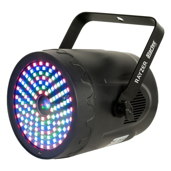 ADJ Startec Rayzer 2-in-1 LED Wash Light and Laser, Front Side View