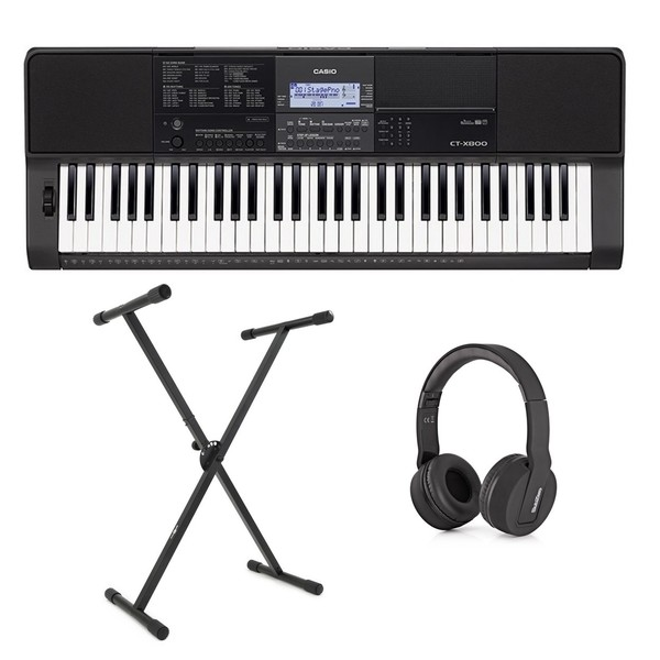 Casio CT-X800 Portable Keyboard Package