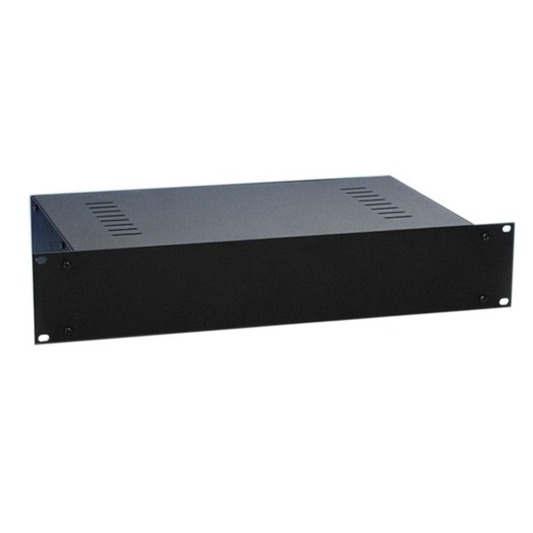 Adam Hall 19'' Rackmount Housing With Vent Slots, 2U
