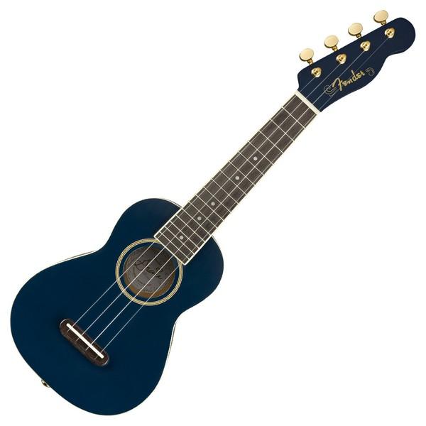 Fender Grace VanderWaal Moonlight Ukulele WN Front View