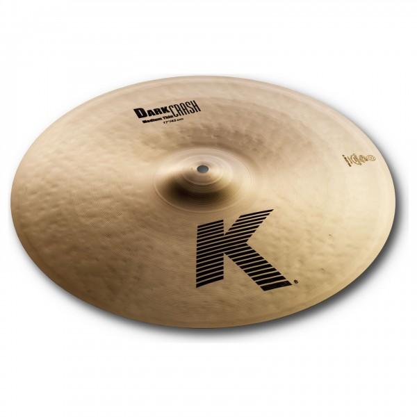 "Zildjian K 17"" Medium Thin Dark Crash Cymbal - Main Image"