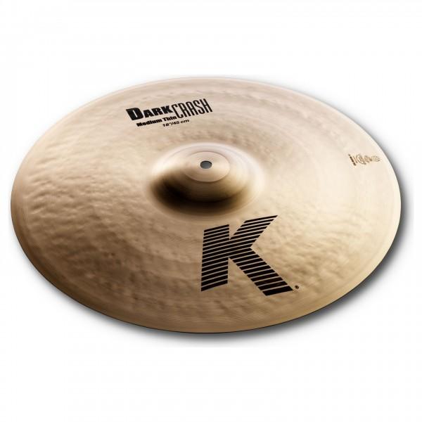 Zildjian K 18'' Medium Thin Dark Crash Cymbal - Main Image