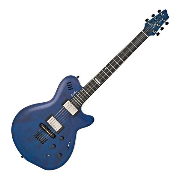 Godin LGX-SA, Translucent Blue main