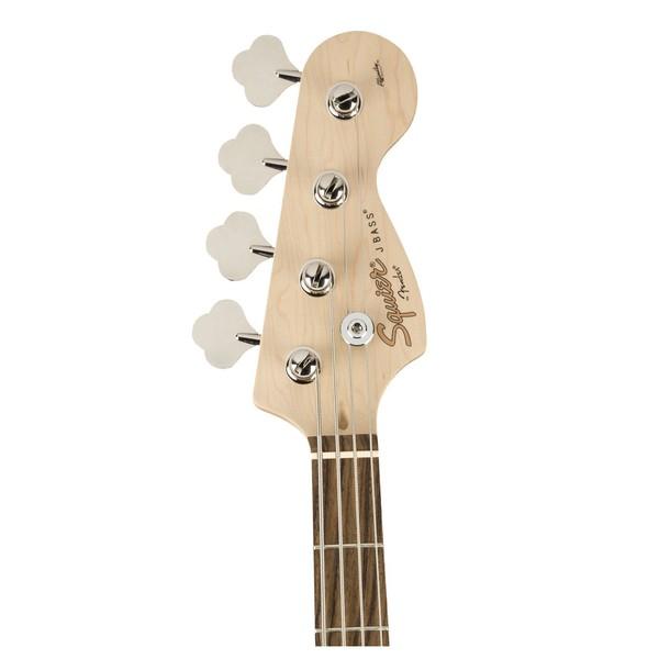 Squier Affinity Jazz Bass, Black - Head