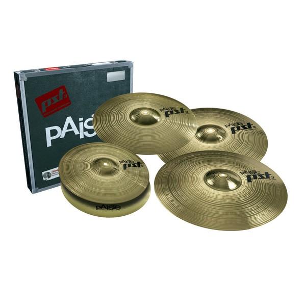 Paiste PST3 Bonus Cymbal Set w/Free 18'' Crash - Main Image