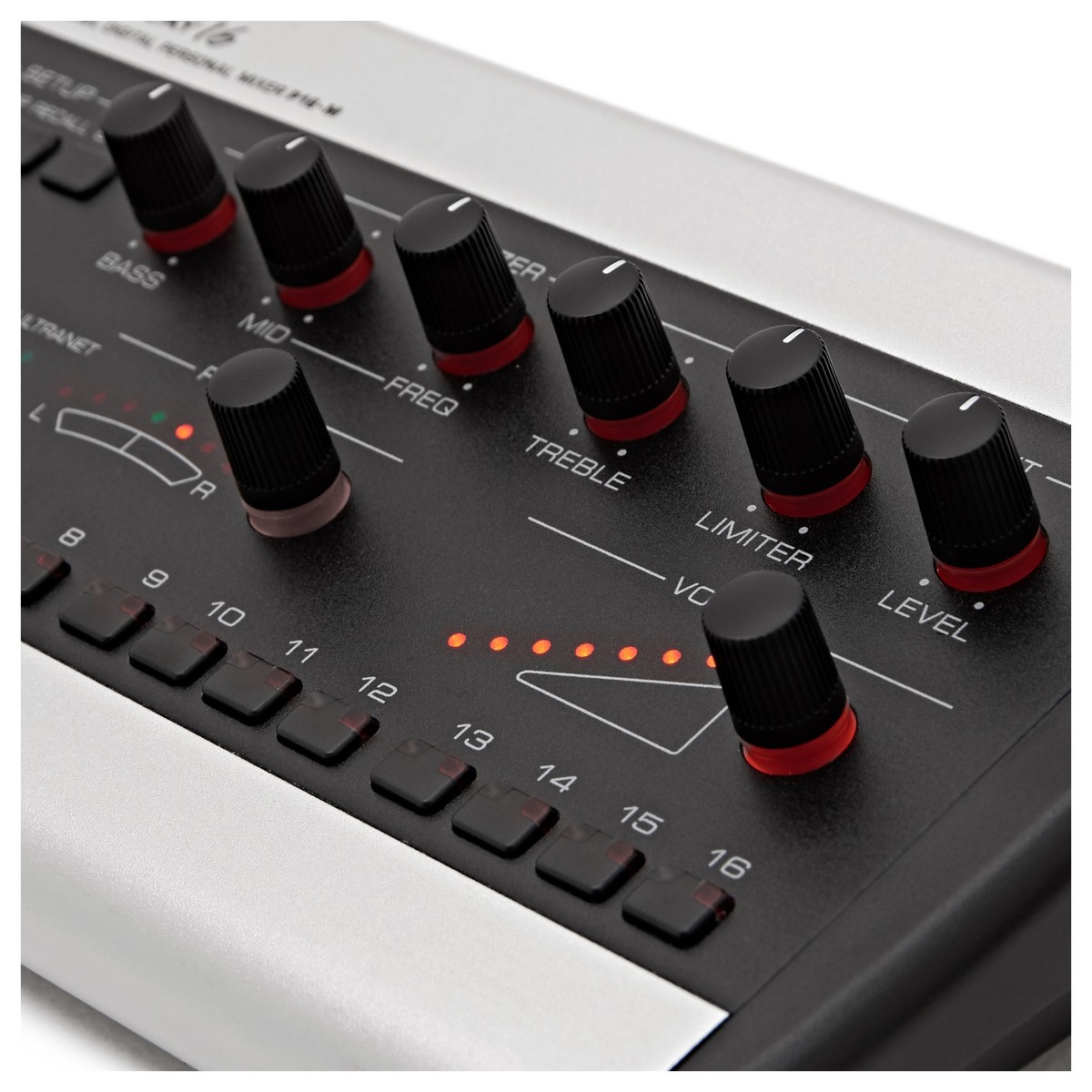 Behringer Powerplay P16 M Personal Mixer At Gear4music X32 Rack Live Performance Setup With S16 And Monitor System