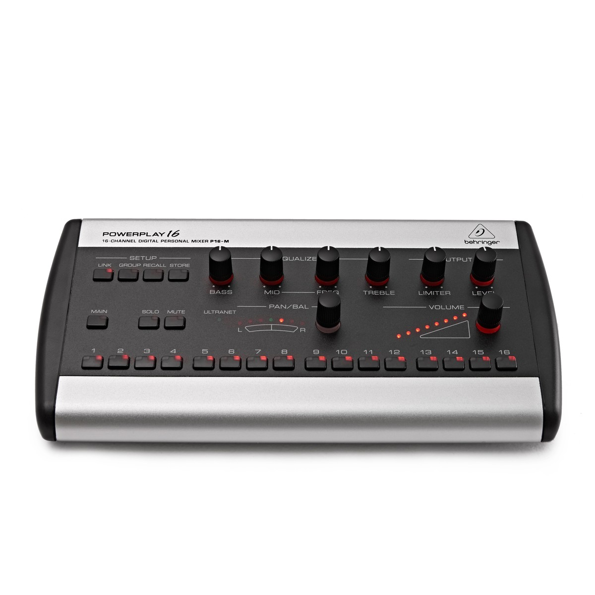 behringer powerplay p16 m personal mixer at gear4music. Black Bedroom Furniture Sets. Home Design Ideas
