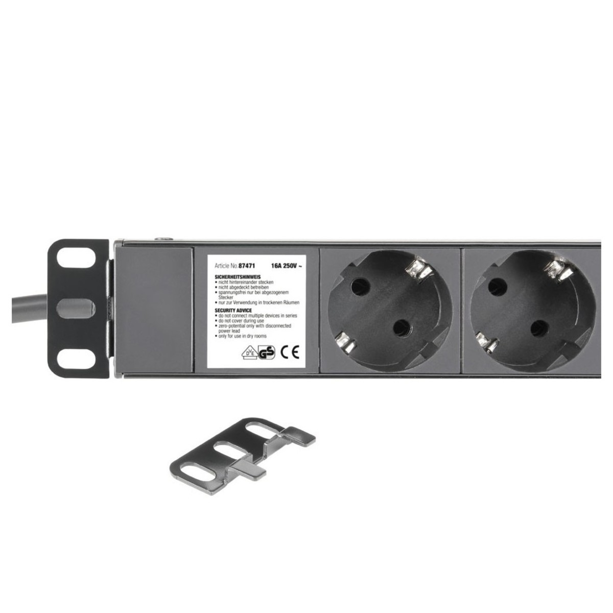 adam hall 19 39 39 eu power strip with usb chargers 8 sockets at gear4music. Black Bedroom Furniture Sets. Home Design Ideas
