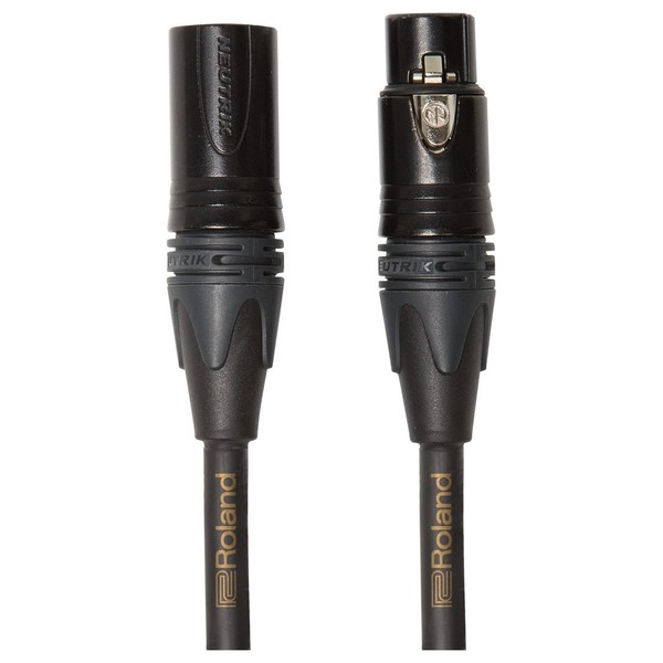 Roland Gold Series Microphone Cable, 50ft/15m