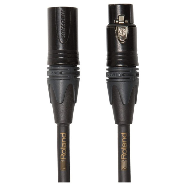 Roland Gold Series Microphone Cable, 25ft/7.5m - Main