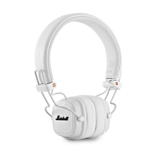 Marshall Major III On-Ear Headphones, White main